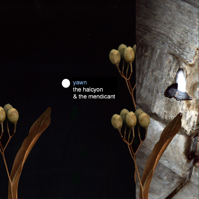 Yawn, The Halcyon and The Mendicant Album Art