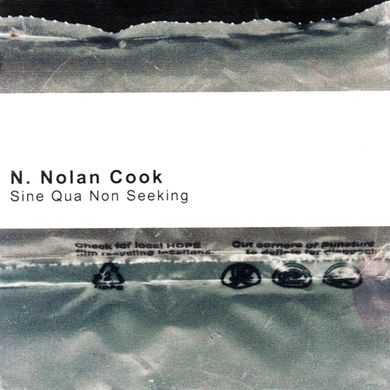 N. Nolan Cook, Sine Qua Non Seeking Album Art